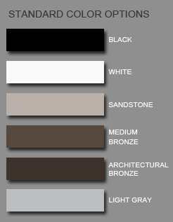 Gate Color Options