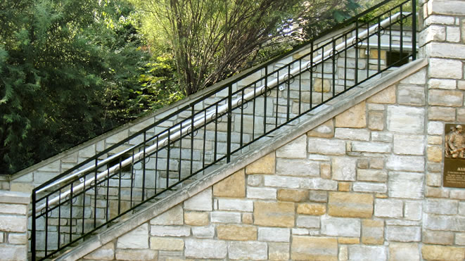 Alumina Railings Architectural Ornamental Picket Railings